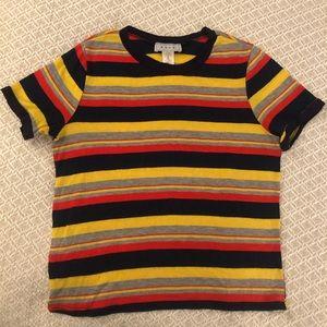Striped Retro Women's T-Shirt by Gaze